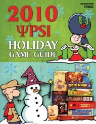 PSI HOLIDAY CATALOG 2010 - Publisher Services Inc.