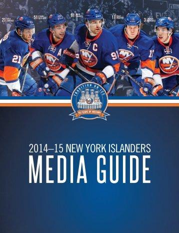 2014-15 NYIslanders Media Guide