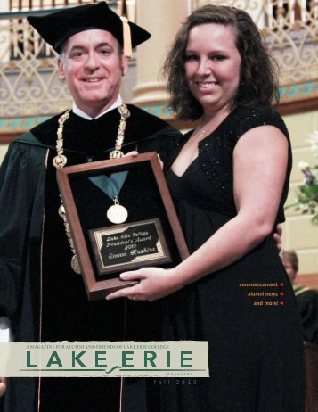 Fall 2010 - Lake Erie College
