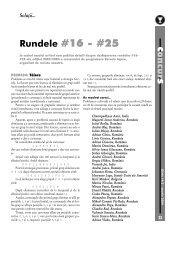 c s Rundele #16 - #25 - GInfo