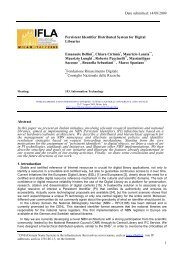 Persistent Identifier Distributed System for Digital ... - IFLA Congresses