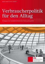 Verbraucherpolitik für den Alltag - SPD Bundestagsfraktion