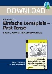 Gisela Küfner Einfache Lernspiele – Past Tense Einzel ... - FORREFS