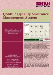 QAMS™ (Quality Assurance Management System - World of Splice ...