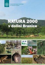 Natura 2000 v dolini Branice - Zavod RS za varstvo narave