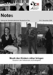 Musik den Kindern näher bringen - Burgenländischen Musikschulwerk