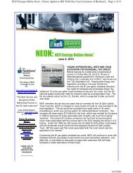 June 4, 2010 Page 1 of 13 NEFI Energy Online News ... - PriMedia