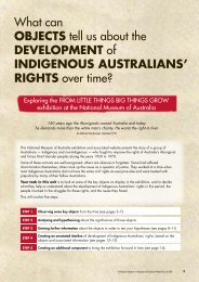 rIghts over time? - Australian History Mysteries