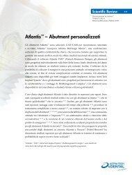 Atlantis™ – Abutment personalizzati - Astra Tech