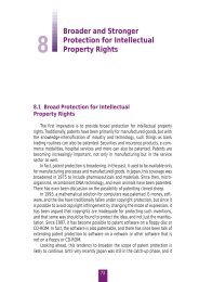 Broader and Stronger Protection for Intellectual Property Rights - WIPO