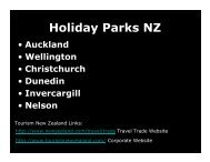 Holiday Parks NZ - New Zealand