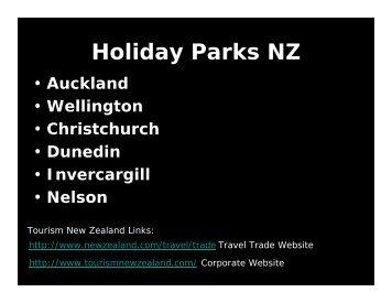 Holiday Parks NZ - New Zealand