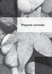 Proyecto curricular. Lengua Castellana y Literatura 4º ESO ... - Algaida
