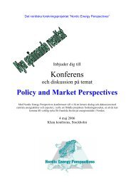 Nordicenergyperspectives.org