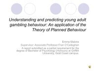 Understanding and predicting young adult gambling behaviour: An ...