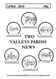 April 2010 - The Parish of Crosthwaite and Lyth
