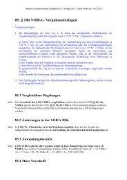 85. § 10b VOB/A - Vergabeunterlagen - Oeffentliche Auftraege