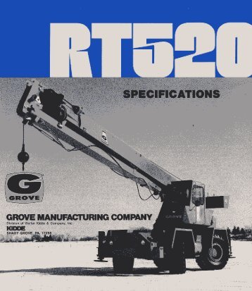 Grove-RT520-Spec - Rawalwasia