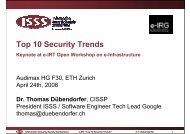 Top 10 Security Trends