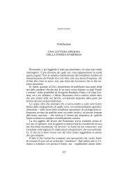 Postfazione - Centro Studi Ettore Luccini