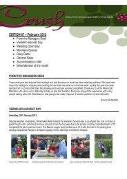 EDITION 67 – February 2012 - O'Reilly's Rainforest Retreat