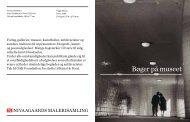 Bøger på museet - Selskabet for Dansk Fotografi