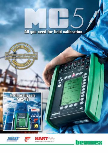 All you need for field calibration. - INCAL Instrumentos