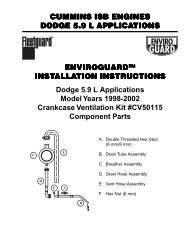Enviroguard Manual B Engine