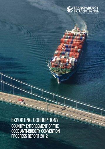 EXPORTING CORRUPTION? - Poder Ciudadano