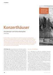 Konzerthäuser - Schott Music
