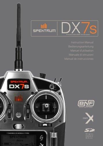 DX7s Manual - Spektrum
