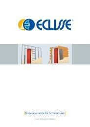Einbauelemente für Schiebetüren - Eclisse