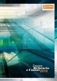 Relatório Gestão 2010 - Zagope