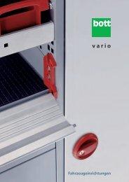 bott vario - Schneider Fahrzeugeinrichtungs GmbH
