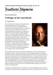 Otto Geisel FAZ