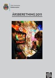 Årsberetning 2011 - Kulturetaten