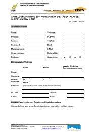 anmeldung/antrag zur aufnahme in die talentklasse surselva/sgv ilanz