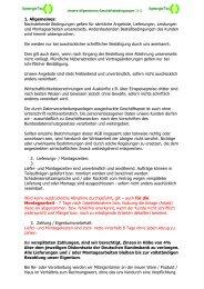 AGB - Senertec-service.de