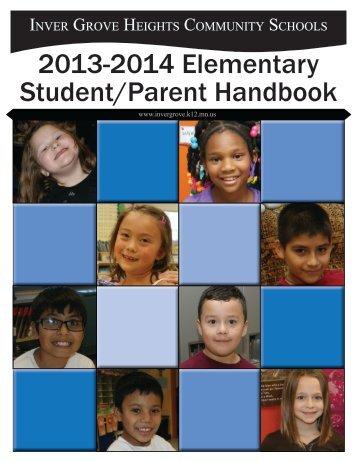 2012-2013 Elementary Student/Parent Handbook - Inver Grove ...