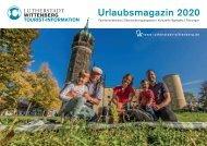 Urlaubsmagazin Lutherstadt Wittenberg 2019