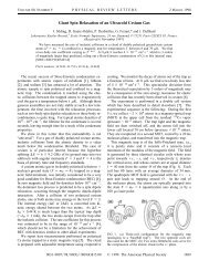 Giant Spin Relaxation of an Ultracold Cesium Gas - Département de ...