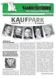 Ausgabe 11 - Bürgerverein Freiberg und Mönchfeld eV