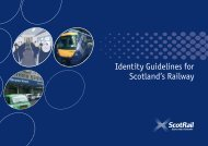 Identity Guidelines for Scotland's Railway - Transport Scotland