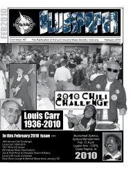 Louis Carr 1936-2010 - Linn County Blues Society