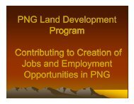 Dr Thomas Webster - Land and Employment - PNG Institute of ...