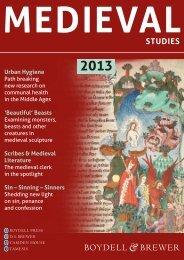 Medieval - University of Rochester Press