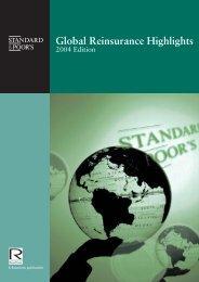 Global Reinsurance Highlights - Reactions