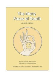 The Many Faces of Death - Urban Dharma