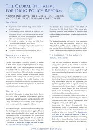 The Global Drug Policy Initiative Leaflet.pdf - Beckley Foundation