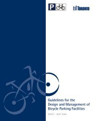 Guidelines for the Design and Management of Bicycle Parking ...